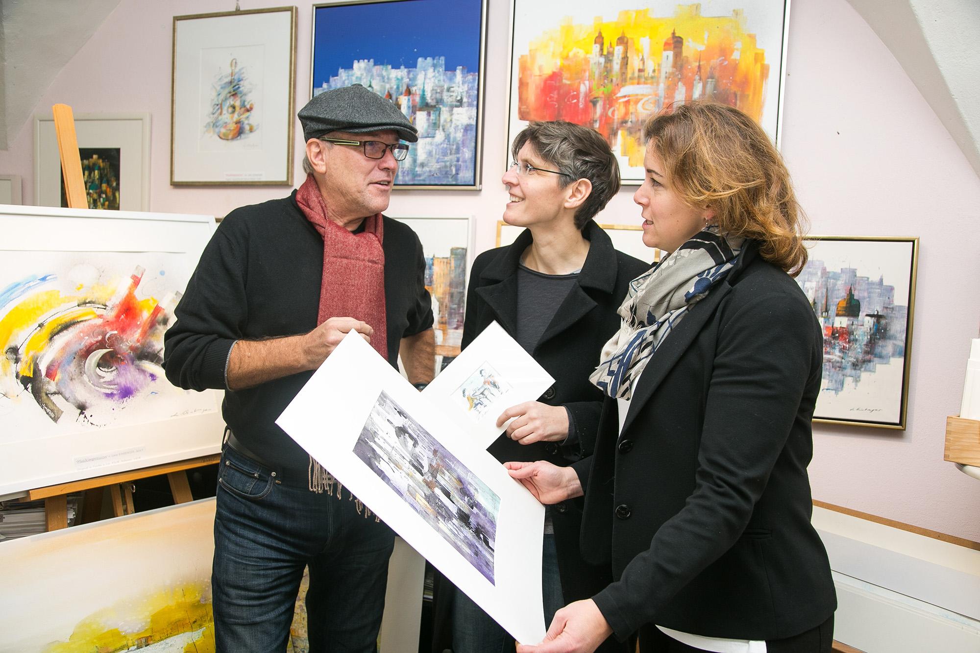 Atelier – Galerie Leon Einberger Salzburg